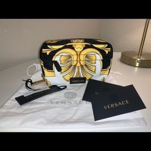 Authentic Versace Barocco cosmetics case clutch